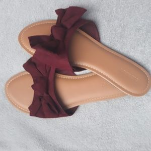 Maroon Old Navy Sandals